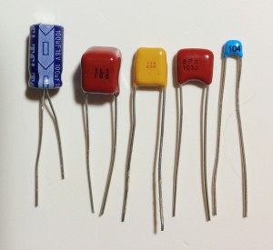 BleepKit capacitors