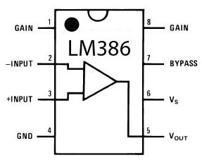 LM386  pins