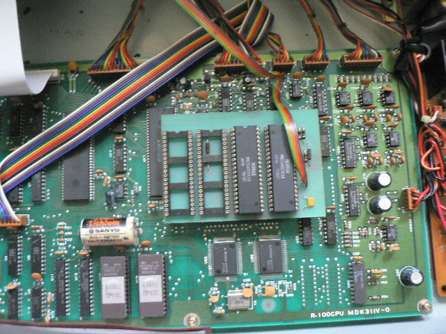 R-100 rom switch board