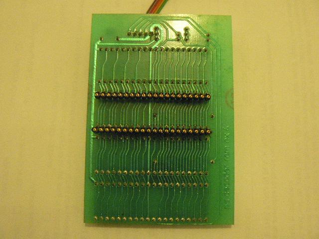 R-100 rom board back