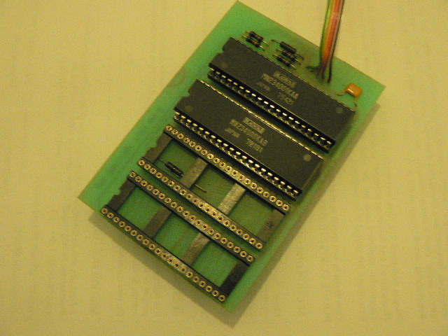 R-100 rom board front